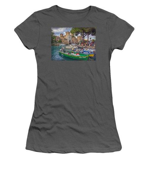 History At Lake Garda Women's T-Shirt (Junior Cut)