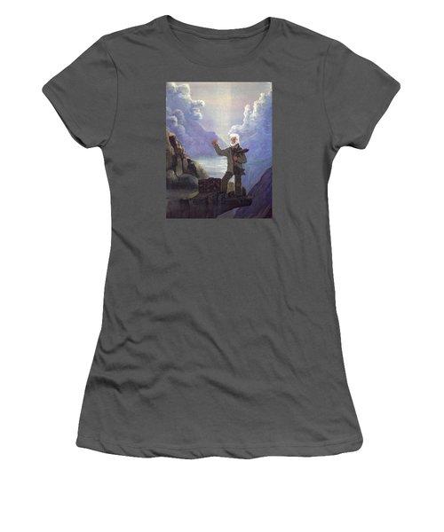 Hitchhiker Women's T-Shirt (Junior Cut) by Richard Faulkner