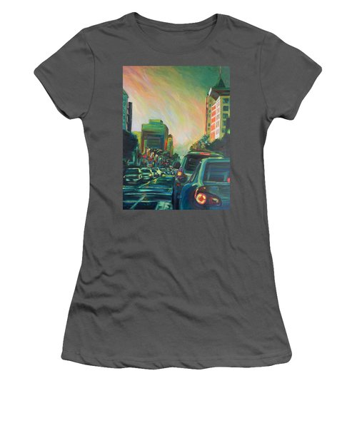 Hollywood Sunshower Women's T-Shirt (Athletic Fit)