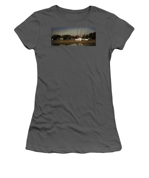 Home For The Day Women's T-Shirt (Athletic Fit)