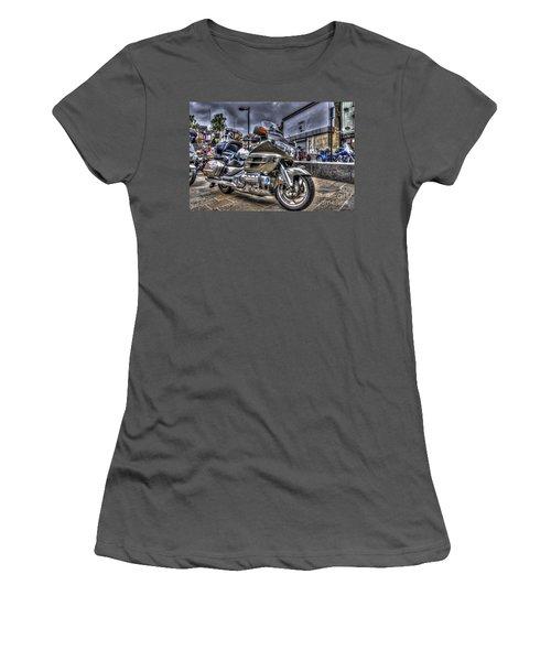 Honda Goldwing 2 Women's T-Shirt (Junior Cut) by Steve Purnell