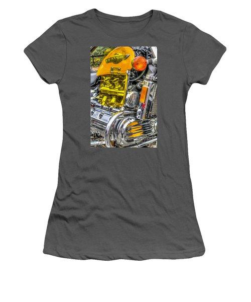 Honda Valkyrie 1 Women's T-Shirt (Junior Cut) by Steve Purnell