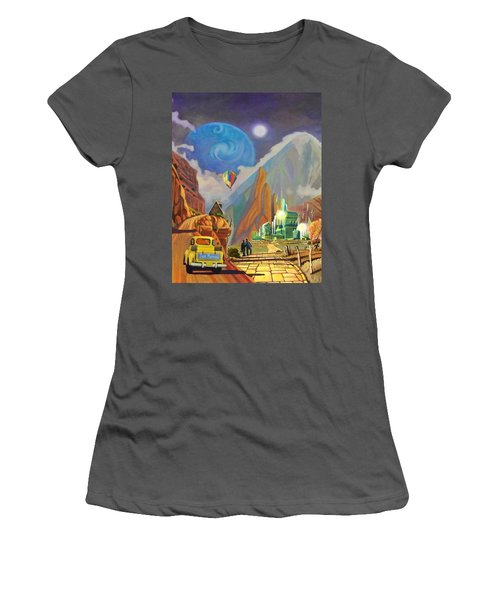 Honeymoon In Oz Women's T-Shirt (Athletic Fit)
