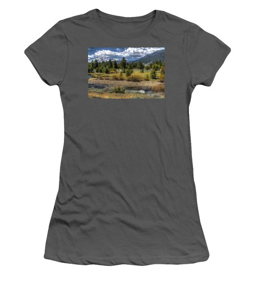 Hope Valley Wildlife Area Women's T-Shirt (Athletic Fit)