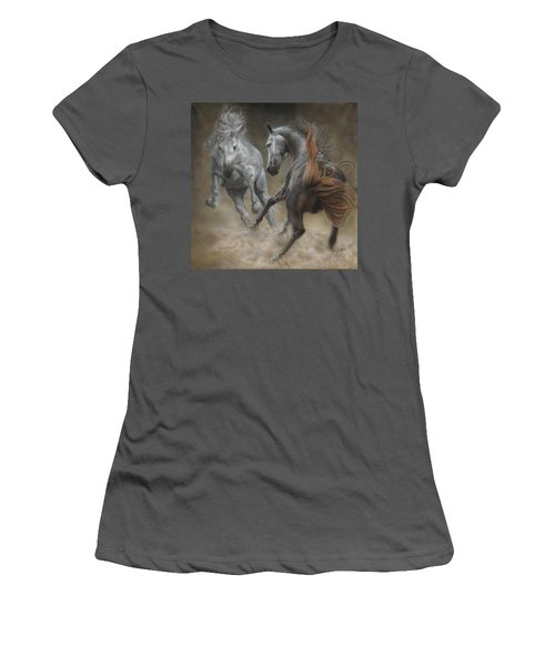 Horseplay II Women's T-Shirt (Athletic Fit)