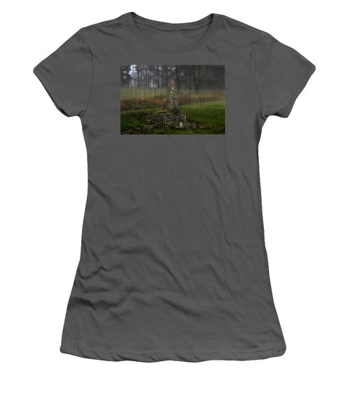 Howard Chandler Christy Ruins Women's T-Shirt (Athletic Fit)