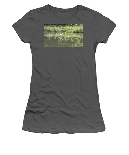 Hunter Reflected 1 Women's T-Shirt (Athletic Fit)