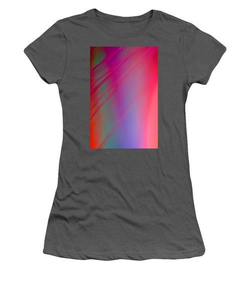Women's T-Shirt (Junior Cut) featuring the photograph Hush by Dazzle Zazz