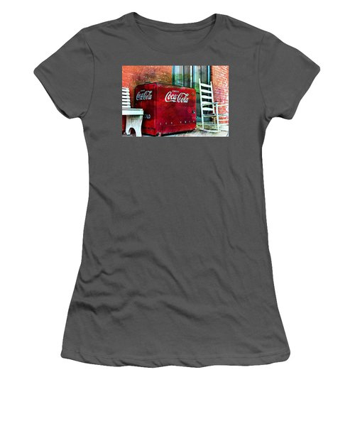 Ice Cold Coca Cola Women's T-Shirt (Athletic Fit)