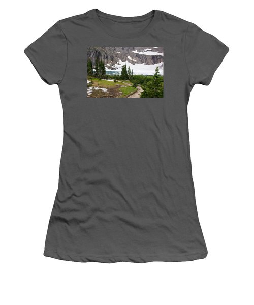 Iceberg Lake Women's T-Shirt (Athletic Fit)