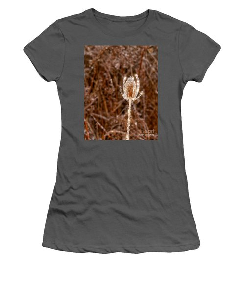 Icy Thistle Women's T-Shirt (Athletic Fit)