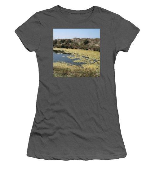 Ile De Re - Marshes Women's T-Shirt (Athletic Fit)