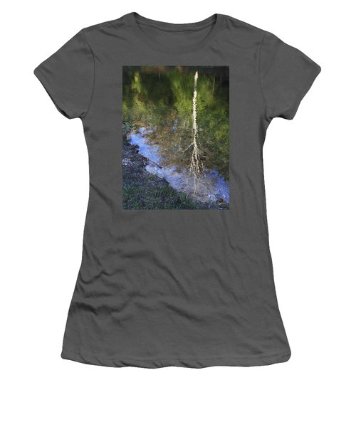 Impressionist Reflections Women's T-Shirt (Junior Cut) by Patrice Zinck
