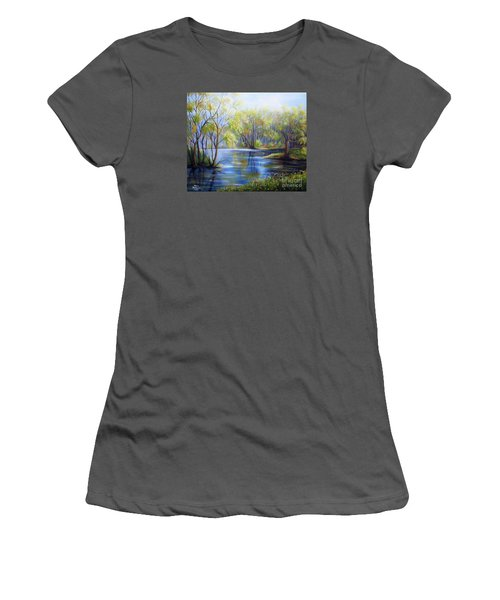 Impressions Of Spring Women's T-Shirt (Athletic Fit)