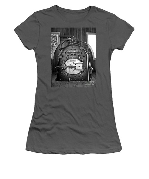 Women's T-Shirt (Junior Cut) featuring the photograph In Control B by Sara  Raber