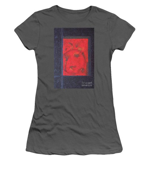 Women's T-Shirt (Junior Cut) featuring the painting In The Night Sky by Mini Arora