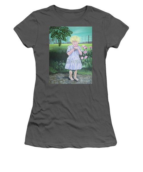 In The Summer Shade Of The Locust Women's T-Shirt (Athletic Fit)