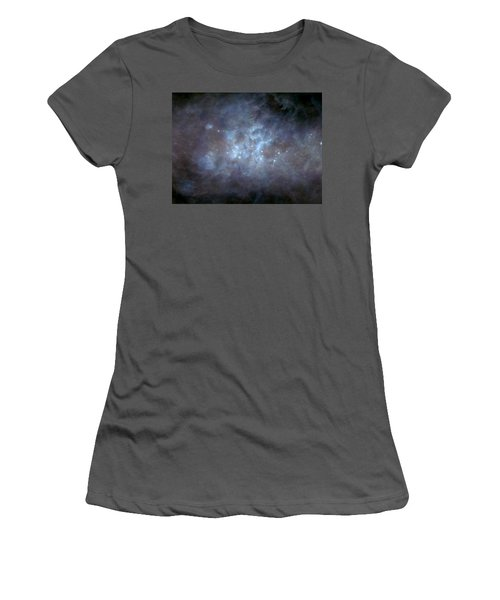 Women's T-Shirt (Junior Cut) featuring the photograph Infrared View Of Cygnus Constellation by Science Source