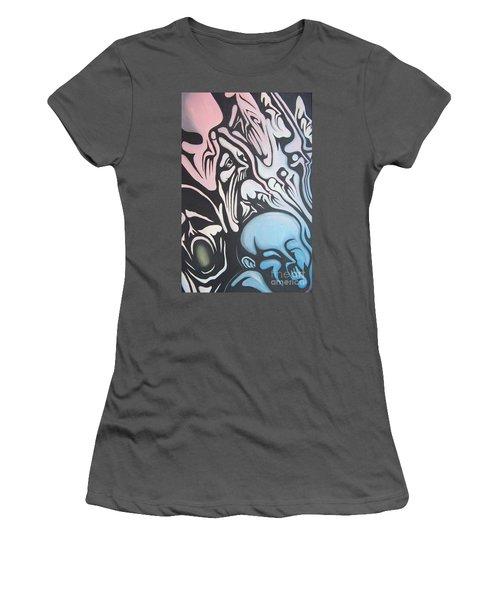 Intensity Women's T-Shirt (Junior Cut) by Michael  TMAD Finney