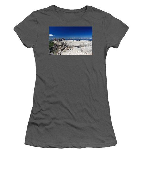 Italian Dolomites - Sella Group Women's T-Shirt (Athletic Fit)