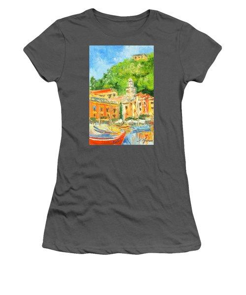 Italy - Portofino Women's T-Shirt (Athletic Fit)