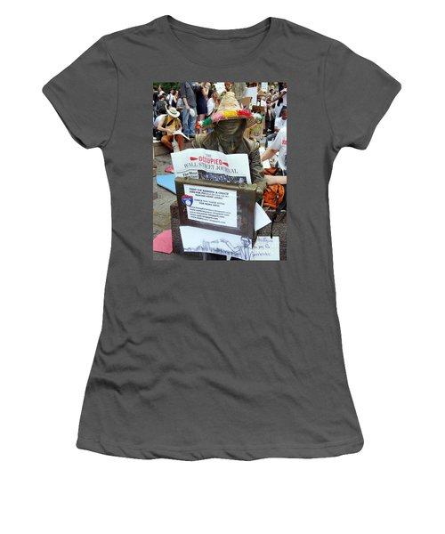 Women's T-Shirt (Junior Cut) featuring the photograph Its A New Dawn by Ed Weidman