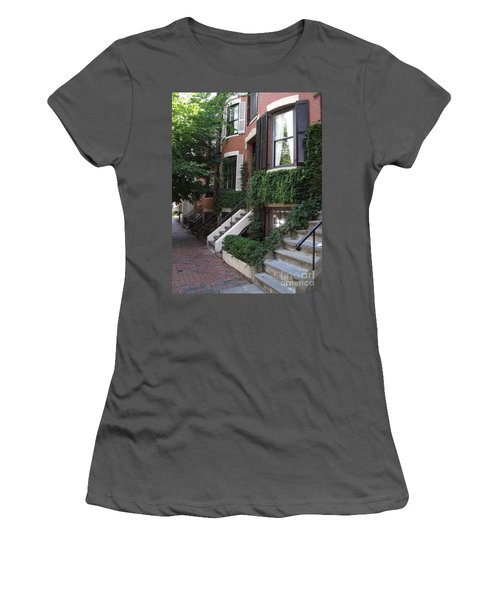 Ivy Walls Women's T-Shirt (Athletic Fit)