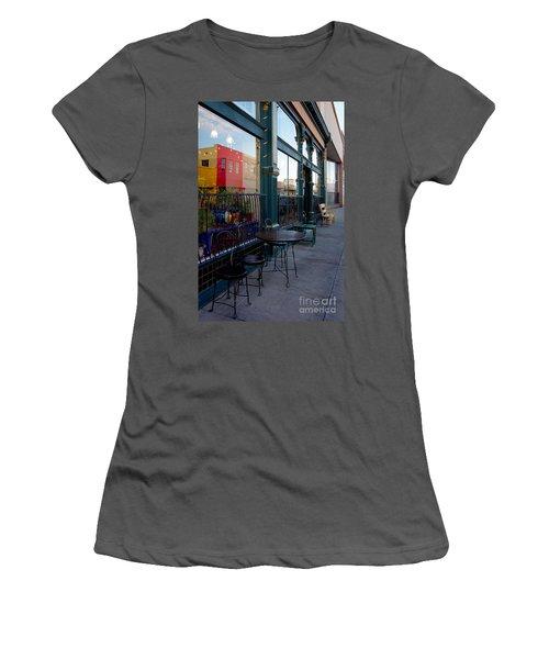 Java Time Women's T-Shirt (Junior Cut) by Vicki Pelham