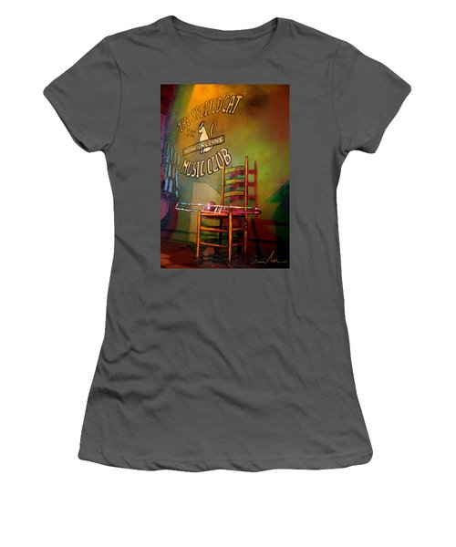 Jazz Break In New Orleans Women's T-Shirt (Athletic Fit)