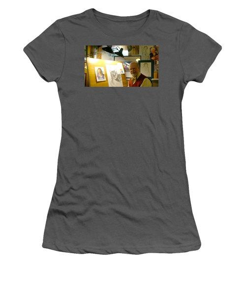 John D Benson Women's T-Shirt (Athletic Fit)