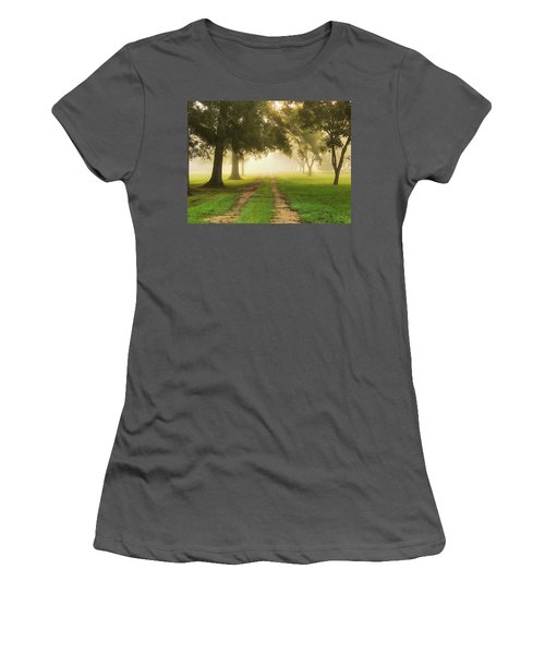Journey Into Fall Women's T-Shirt (Athletic Fit)
