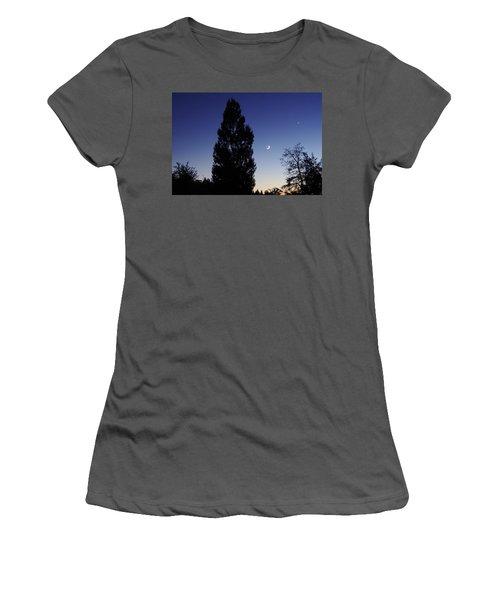Julian Night Sky 2013 A Women's T-Shirt (Athletic Fit)