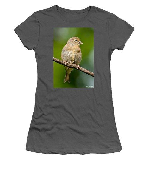 Juvenile American Goldfinch Women's T-Shirt (Athletic Fit)