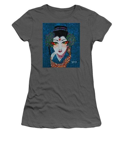 Kabuki Women's T-Shirt (Athletic Fit)