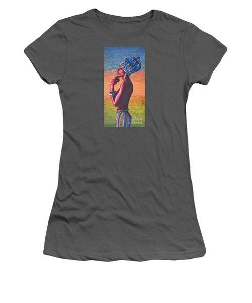 Kalimba De Luna Women's T-Shirt (Athletic Fit)