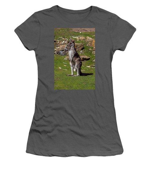 Kangaroo Women's T-Shirt (Athletic Fit)