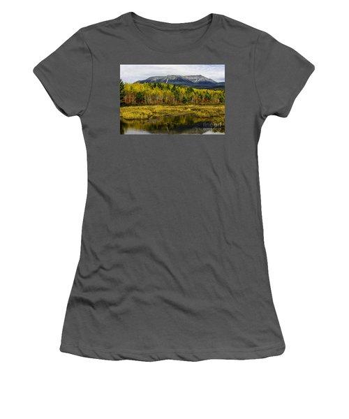 Katahdin Baxter State Park Maine Women's T-Shirt (Athletic Fit)