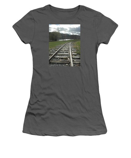 Keeping Track Women's T-Shirt (Athletic Fit)