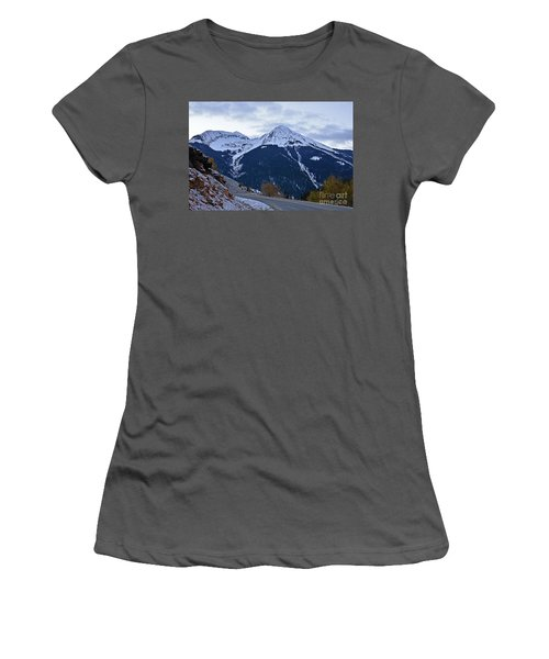 Kendall Mountain Morning Women's T-Shirt (Athletic Fit)