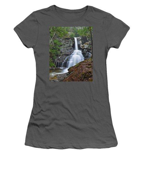 Kent Falls State Park Ct Waterfall Women's T-Shirt (Junior Cut)