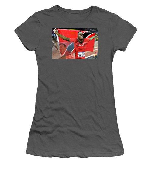 Keshorn Walcott Women's T-Shirt (Athletic Fit)