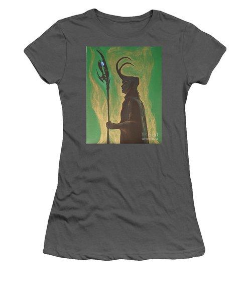 King Loki Women's T-Shirt (Athletic Fit)
