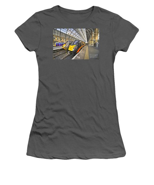 Kings Cross Variety  Women's T-Shirt (Junior Cut) by Rob Hawkins