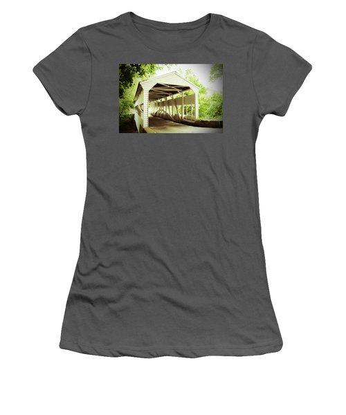 Knox Bridge Women's T-Shirt (Athletic Fit)