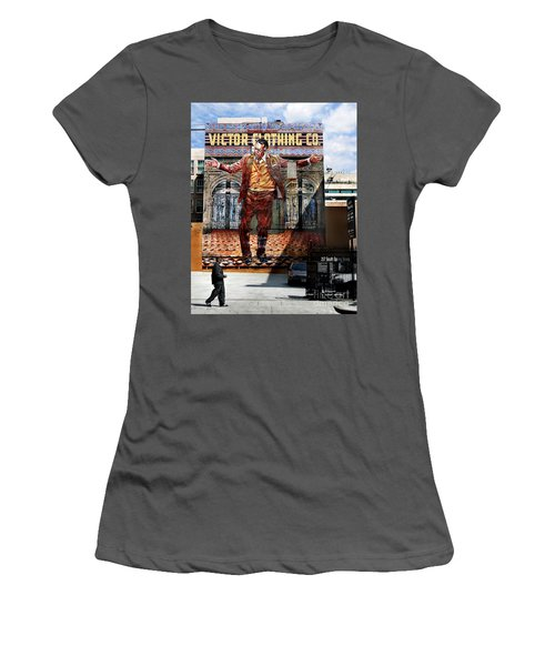 Women's T-Shirt (Junior Cut) featuring the photograph L A  City Beat by Jennie Breeze
