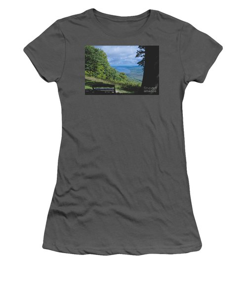 Lake Vista Women's T-Shirt (Athletic Fit)