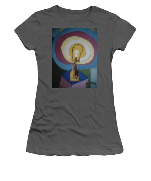 Lamp Without A Shade Women's T-Shirt (Athletic Fit)