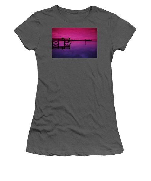 Last Sunset Women's T-Shirt (Athletic Fit)