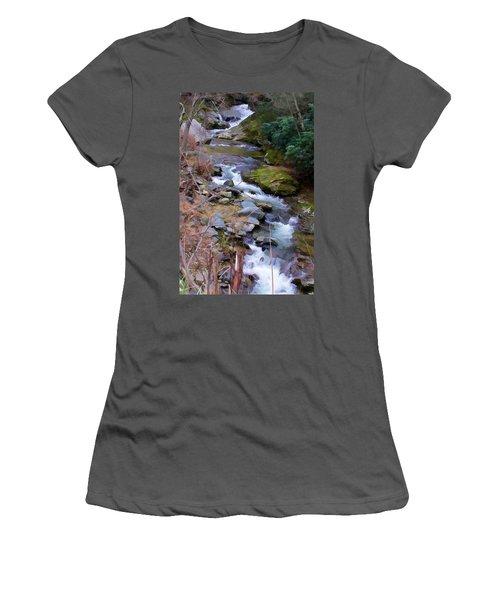 Laurel Creek  Women's T-Shirt (Athletic Fit)