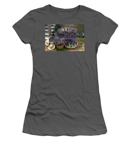 Lavender Harvest Women's T-Shirt (Athletic Fit)